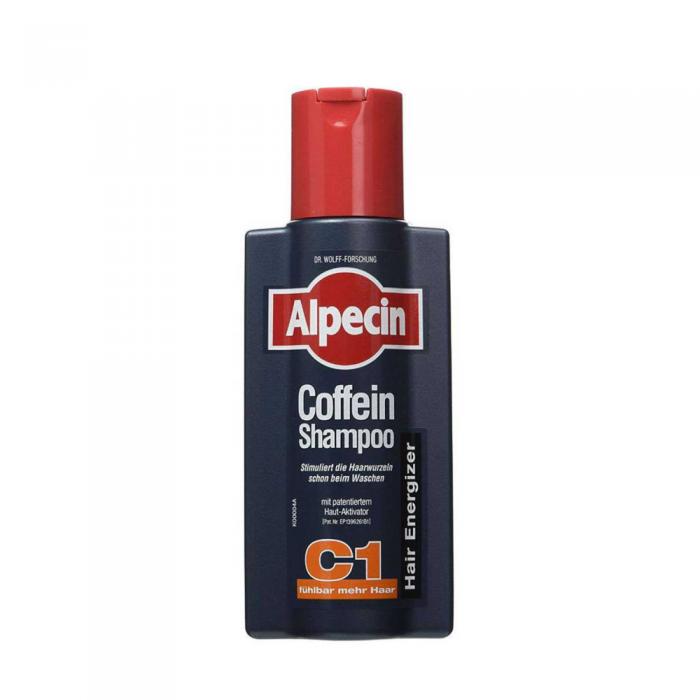 ALPECIN šampūnas su kofeinu nuo plaukų slinkimo, 250 ml