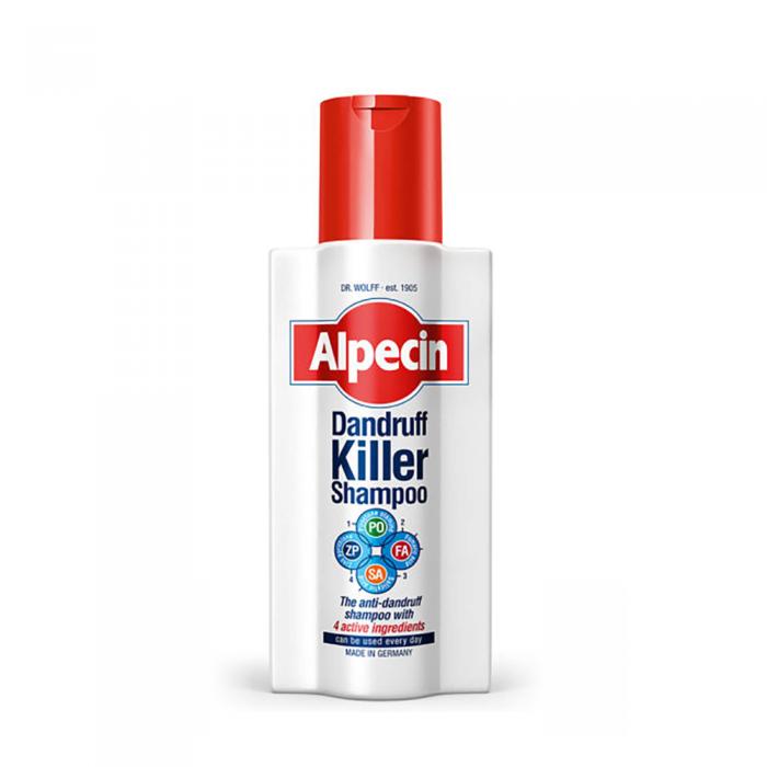 ALPECIN DANDRUFF KILLER šampūnas nuo pleiskanų, 250 ml