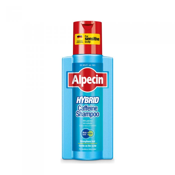 ALPECIN HYBRID šampūnas vyrams su kofeinu, 250 ml