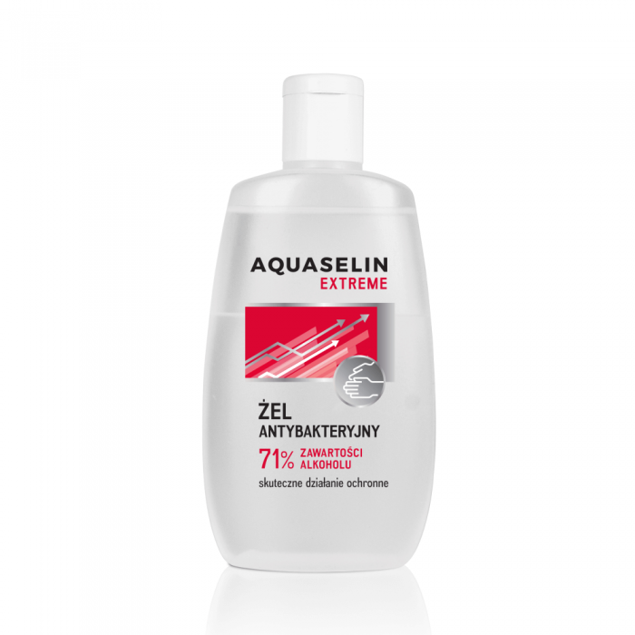 AQUASELIN EXTREME antibakterinis gelis rankoms, 120 ml