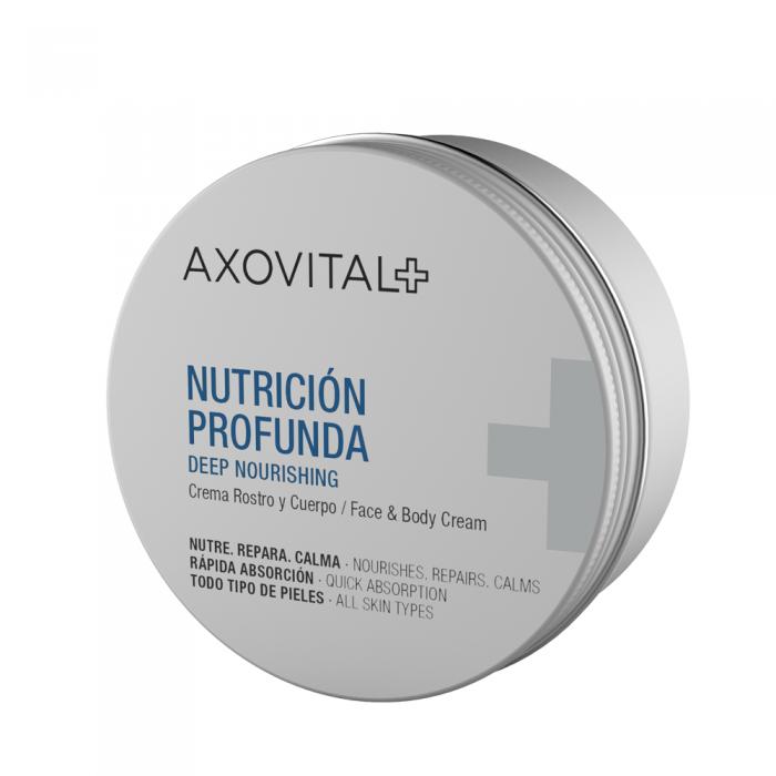 AXOVITAL gilaus maitinamojo poveikio veido ir kūno kremas, 150 ml