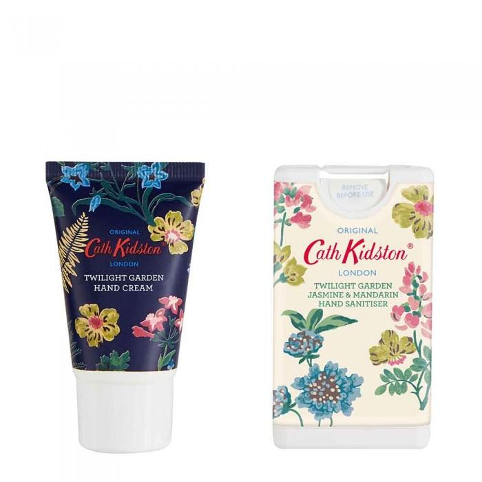 TWILIGHT GARDEN kosmetinė  (rankų kremas, 30 ml, ir rankų dezinfekantas, 15 ml)