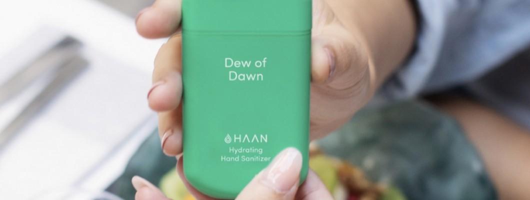 HAAN – dezinfekuoja, bet nesausina odos