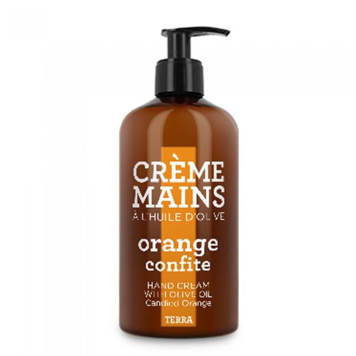 COMPAGNIE DE PROVENCE rankų kremas su alyvuogių aliejumi, karamelizuotų apelsinų kvapo, 300 ml