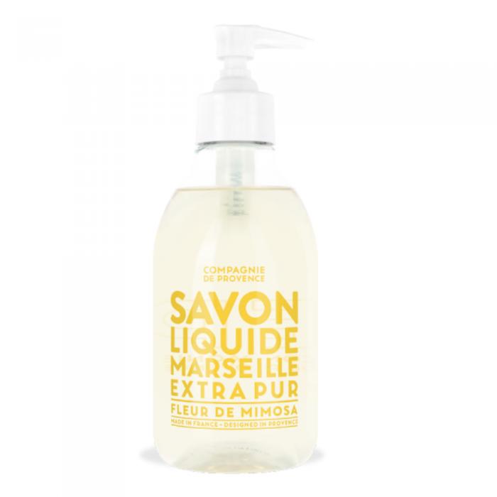 COMPAGNIE DE PROVENCE skystas Marselio muilas, mimozų kvapo, 300 ml