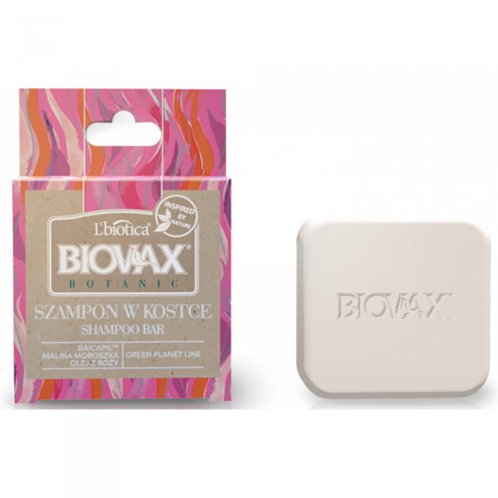 L'BIOTICA BIOVAX BOTANIC kietasis šampūnas su paprastųjų tekšių ekstraktu, 82 g
