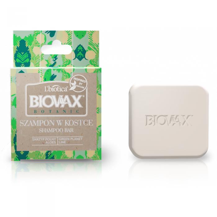 L'BIOTICA BIOVAX BOTANIC kietasis šampūnas su alavijų ir asiūklių ekstraktu, 82 g