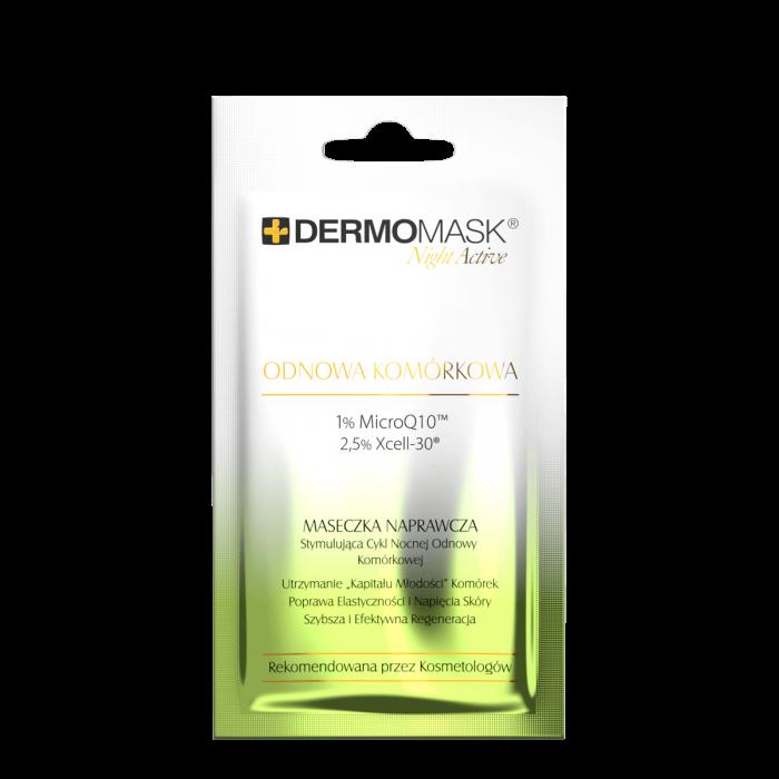 L'BIOTICA  DERMOMASK Night Active. Ląstelių atsinaujinimas.12 ml