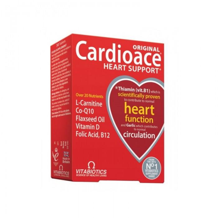CARDIOACE, 30 tablečių / maisto papildas