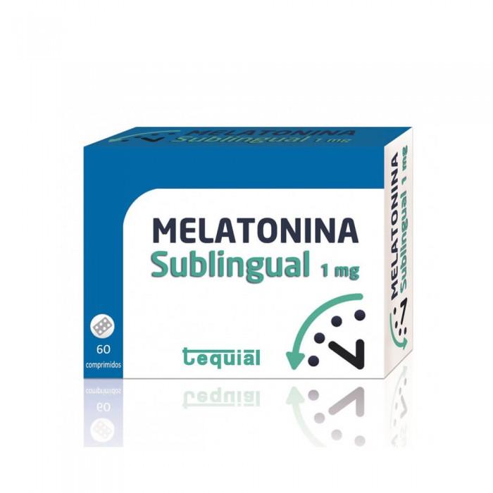 MELATONINA Sublingual maisto papildas su melatoninu,  vitaminais ir saldikliais, 60 tablečių / maisto papildas