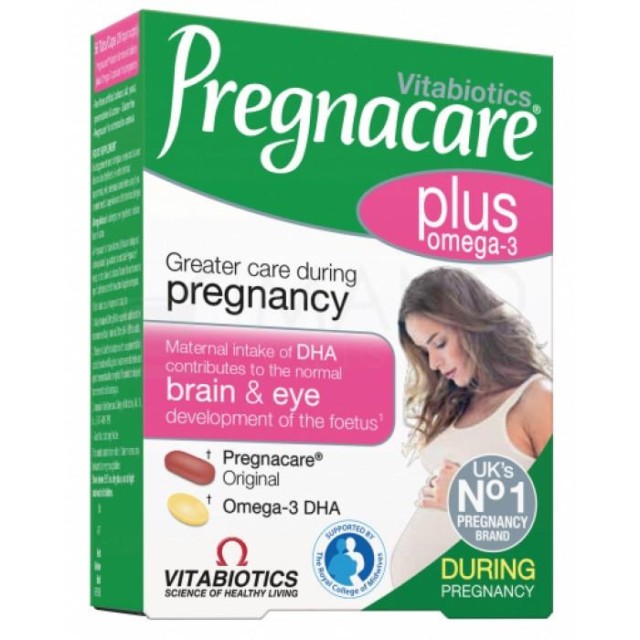 Vitabiotics Pregnacare® Plus Omega-3 maisto papildas