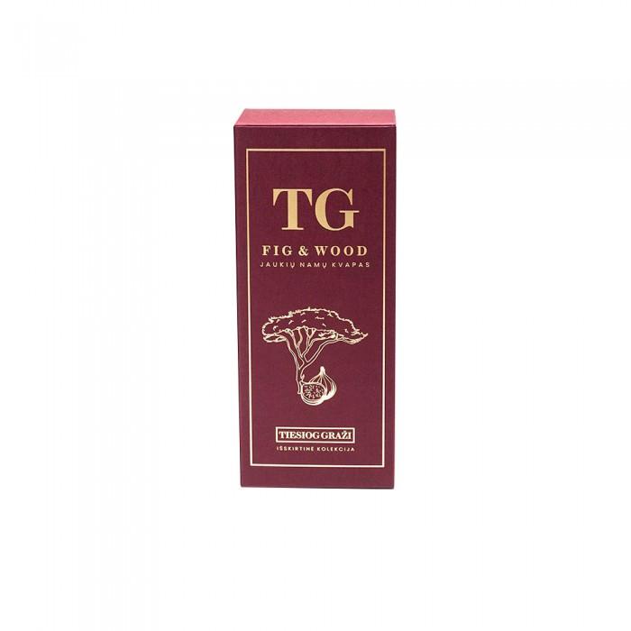 """Jaukių namų kvapas TG """"Fig & wood"""", TIESIOG GRAŽI išskirtinė kolekcija, 100 ml"""