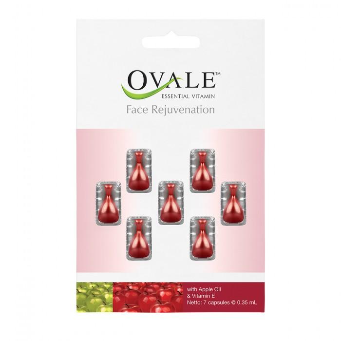 OVALE FACE REJUVENATION tepamieji vitaminai veidui, 7 kapsulės