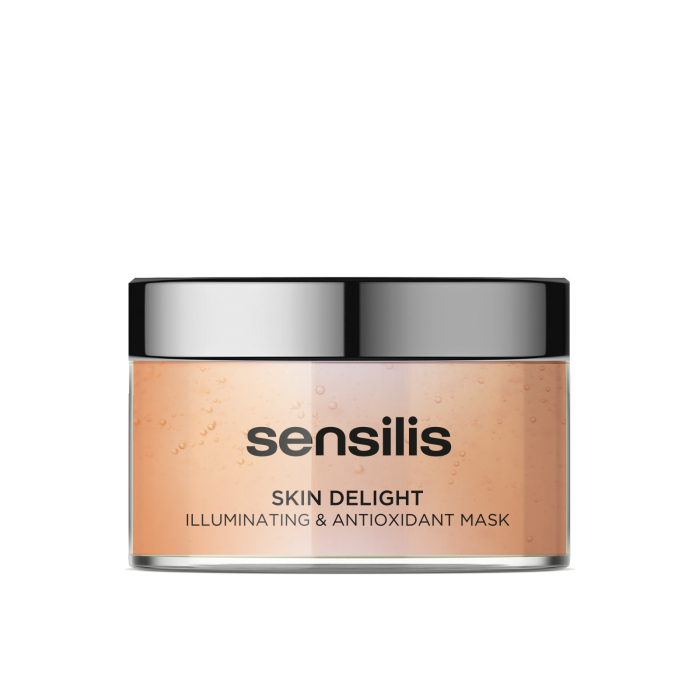 SENSILIS skaistinamoji, antioksiduojamoji ir energizuojamoji kaukė SKIN DELIGHT, 150 ml