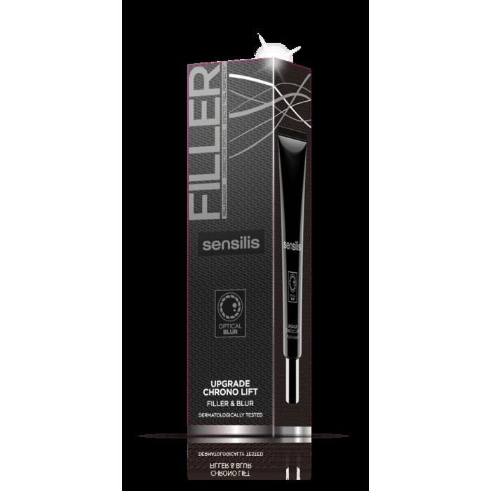 SENSILIS užpildomoji ir maskuojamoji priemonė UPGRADE CHRONO LIFT FILLER&BLUR, 30 ml