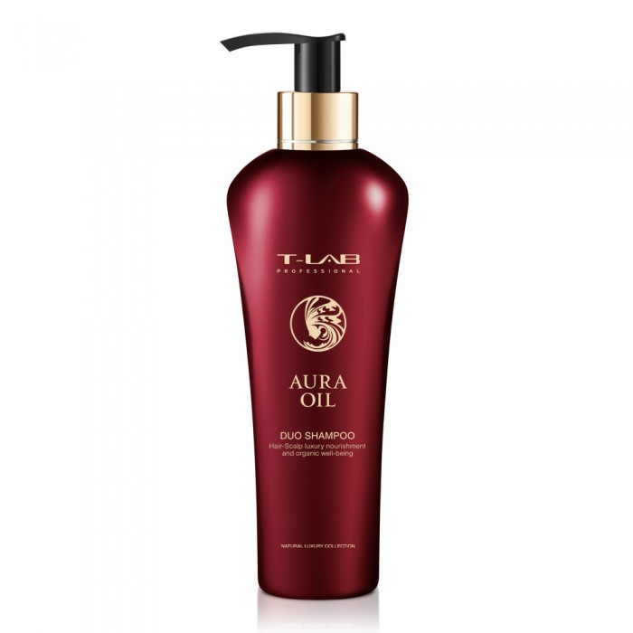 T-LAB professional AURA OIL duo šampūnas, 300 ml