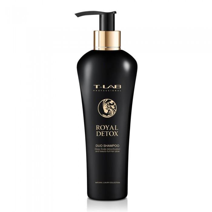 T-LAB professional ROYAL detoksikuojantis duo šampūnas, 300 ml