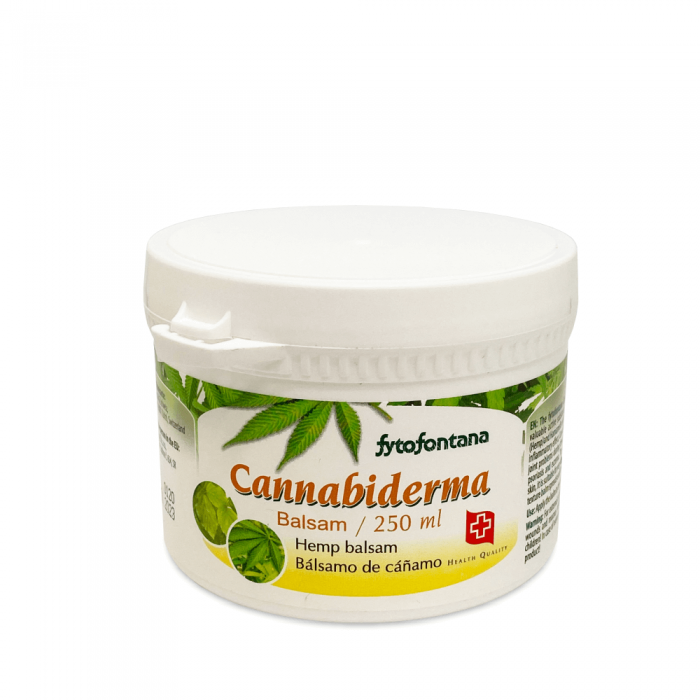 CANNABIDERMA balzamas, 250 ml